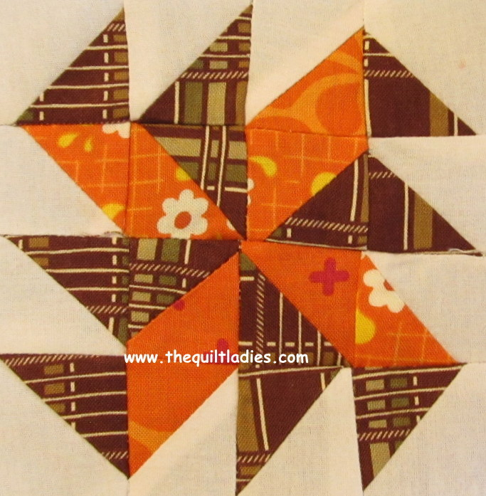 Yankee Puzzle Quilt Pattern Block For YOU To Make By The